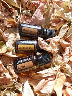 Falling for Me Blend ~ 1 drop each of DoTerra's Cassia & Clove Essential Oil. 1-3 drops of Wild Orange :) I like more.