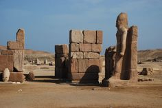 https://flic.kr/p/9atKij | Site of Temple of Amun at Tanis | Tanis was probably founded after the reign of Ramses II