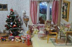 Escena de Navidad a escala 1:12 by dodo Arts and Crafts, via Flickr