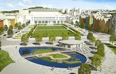 A HUGE swathe of Dundee's waterfront which will become home to the city's V&A museum is set to be unveiled - around six months ahead of schedule. Dundee Waterfront, Scottish News, V & A Museum, Make Way, Street Names, Image Caption, Scotland, Around The Worlds, Mansions