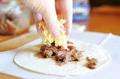 Mississippi Kitchen: Shredded Venison Taco Meat in the crock pot