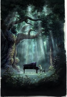 17. Play the piano in the middle of nowhere.