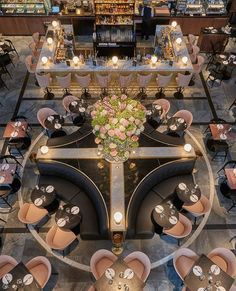 Overhead view of restaurant. Overhead view of restaurant. Restaurant Layout, Deco Restaurant, Restaurant Seating, Luxury Restaurant, Restaurant Lighting, Restaurant Furniture, Restaurant Ideas, Coffee Shop Design, Cafe Design