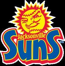 6b56589065f JACKSONVILLE SUNS 1962-2016 Minor League Baseball Mens Polo XS-6XL