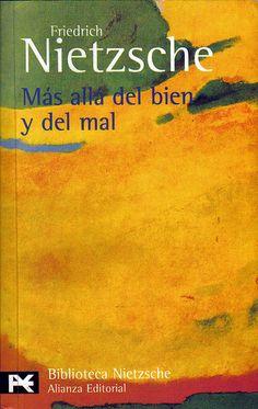 Más allá del bien y del mal | Letras y Filosofía
