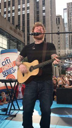 Ed Sheeran on Today. July 6, 2017