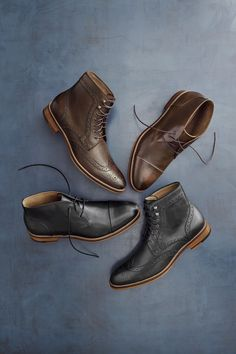 Boot Up: Take on the colder days in style.