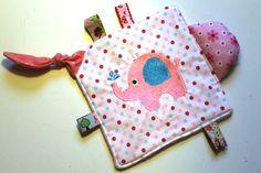 Knistertücher - Knistertuch -BABYFANT- für Mädchen - ein Designerstück von filia_solis bei DaWanda