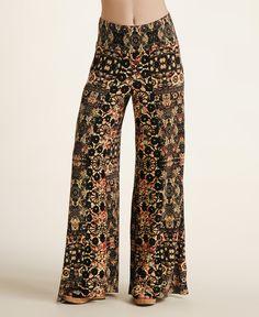 Free People Printed Wide Leg Pants--Love these!!!