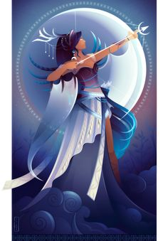 Artemis ~ Greek Mythology by Yliade on DeviantArt Artemis ~ Greek Mythology by Yliade on DeviantArt Artemis ~ Greek Gods and Goddesses by Yliade on DeviantArt<br> Greek And Roman Mythology, Greek Gods And Goddesses, Egyptian Mythology, Egyptian Goddess, Greek Goddess Art, Moon Goddess, Artemis Greek Goddess, Artemis Goddess Costume, Dibujos Percy Jackson