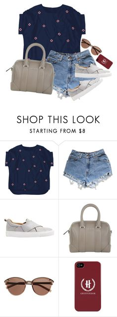 """Saturday work"" by youngsmile on Polyvore featuring Levi's, Jigsaw, Givenchy and Witchery"