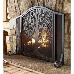 Fireplace Guard, Metal Fireplace, Black Fireplace, Small Fireplace, Fireplace Hearth, Fireplace Filler, Wrought Iron Fireplace Screen, Freestanding Fireplace, Victorian Fireplace