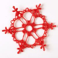Make a Crocheted Snowflake Ornament ... http://www.bhg.com/christmas/ornaments/make-a-crocheted-snowflake-ornament/