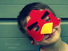 Bird Mask. Lillianna Marie Designs