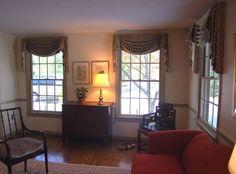 Custom Kingston Valances Traditional Living Room