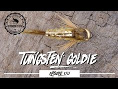 Tying the Tungsten Goldie fly Pattern - PF Steelhead Flies, Fly Tying Patterns, Fishing Videos, Uv Resin, Fly Fishing, Nymphs, Schmidt, Trout, Compact