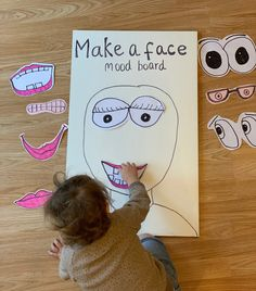 Make A Face Emotions Mood Board - Family Days Tried And Tested
