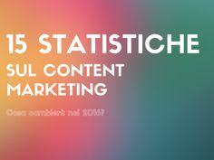 15 statistiche sul content marketing