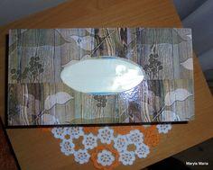 Moje rękodzieło -  pudełko do chusteczek / decoupage // My handicraft - a box of wipes / decoupage