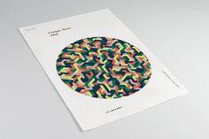 'Round' the World by David Popov, via Behance