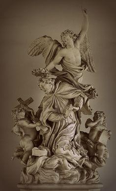 Saint Michael at the Belvedere. Vienna