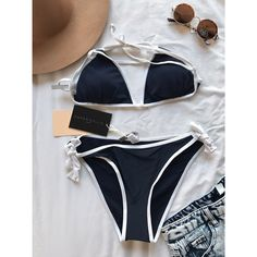 My triangle bikini set  by Asos! Size 8 / M for $$29.00. Check it out: http://www.vinted.com/womens-clothing/bikinis/21951874-triangle-bikini-set.