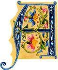 Risultati immagini per illuminated letters Illuminated Letters, Illuminated Manuscript, Medieval Manuscript, Creative Lettering, Lettering Design, Hand Lettering, Motifs Textiles, Illumination Art, Calligraphy Letters