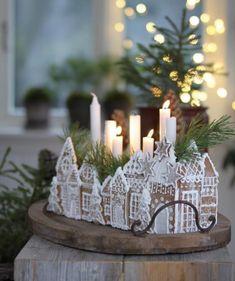 Christmas Gingerbread House, Noel Christmas, Christmas 2019, All Things Christmas, Winter Christmas, Christmas Crafts, Xmas, Swedish Christmas Decorations, Gingerbread Houses