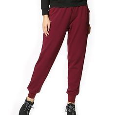 Find the best sports pants for any activity at Yvettesports. Shop a wide selection of racerback, Sports Trousers, Sport Pants, Women Pants, Korean Style, Korean Fashion, Pajama Pants, Sweatpants, Warm, Casual