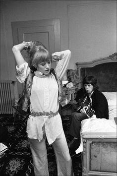 mick and marianne