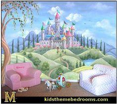 Castle Wall Murals Murals Your Way Castle Theme Bedrooms