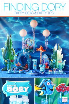 | Finding Dory Party Ideas! | http://soiree-eventdesign.com