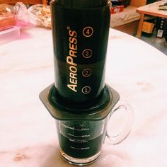 Is Time to make some Coffee!! #aeropress http://ift.tt/1Vbg53z