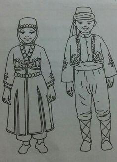 Turkish Folklor Costume