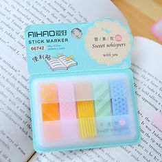 Box Package 5-Color Self-stick Note Set 5239630 2017 – $1.99