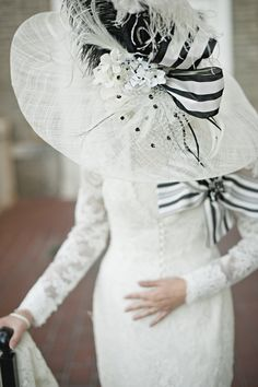 My Fair Lady Inspired Photo Shoot from Jeremy Harwell + Nicholas Kniel - Style Me Pretty My Fair Lady, Chapeaux Pour Kentucky Derby, Kentucky Derby Hats, Fancy Hats, Big Hats, High Fashion Photography, Wedding Photography, Church Hats, Georgia Wedding