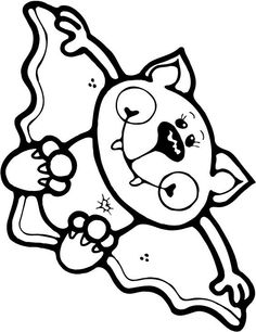 Kids Coloring Pages Halloween - http://fullcoloring.com/kids-coloring-pages-halloween.html