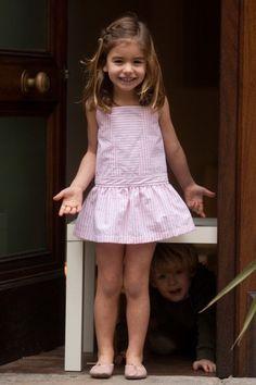 Vestido niña,Vestgo chica,Vestido tenis rosa,Vestido de verano/Talla 2,3,4,5 y 6 años,