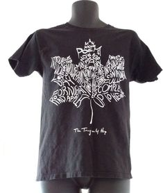 The Monkees T Shirt Classic Guitar Logo 100/% Official Black