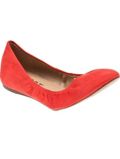 Shoes - Report Suede Ballet Flat - American Rag Online Store