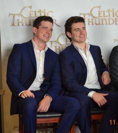 Emmett O'Hanlon and Emmet Cahill From the Celtic Thunder Pre-Cruise event. November 7, 2014