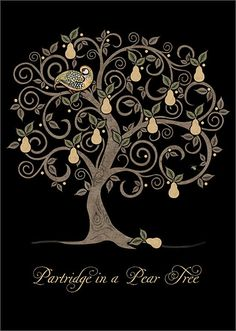 ✻BugArt Christmas Jewels ~ Pear Tree. CHRISTMAS JEWELS Designed by Jane Crowther.