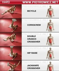 Your Abs Explained - everything you wanted to learn about how to get a flat tummy and get those firm abs