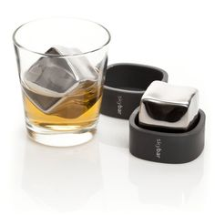 The Skybar Chill Cubes are specially designed to chill your favorite fine spirits. These cool little cubes are stored in the freezer. Just pop one in the bottom of your glass then pour your favorite premium vodka, bourbon, whiskey or scotch over. Your drink will be perfectly chilled, while never being watered down. Fast chill. Never melts. Always cool.