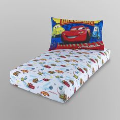 Disney Baby Toddler Boy's Pillow Case & Fitted Sheet - Cars - Baby - Baby Bedding - Sheets