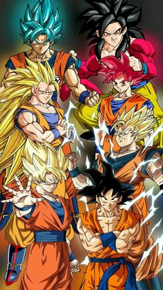 Dragon Ball Z, Dragon Ball Image, Goku Transformations, Broly Movie, One Piece Drawing, Anime Merchandise, Son Goku, Anime Shows, Anime Comics