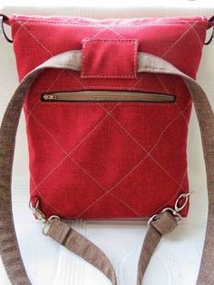 At home with Mrs H: Tester's bags - Convertible
