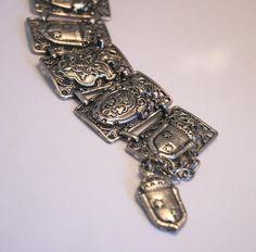 Vintage souvenir bracelet.  France.  French by chicvintageboutique, $35.00