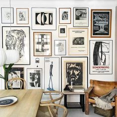 Wall Gallery Ideas is a great way to add personality and appeal to any room. Wall Gallery Ideas will help you decide what would look best in your room. Inspiration Wand, Interior Inspiration, Wall Design, House Design, Home And Deco, Living Room Decor, Dining Room, Dining Table, Sweet Home