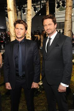 Scott Eastwood & Gerard Butler   Check Out All The Celebrities Who Attended New York Fashion Week